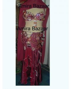Professional Egytian Belly Dance Costume (AB018)