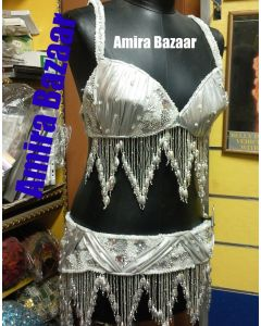 Professional Egytian Belly Dance Bra & Belt (AB029)
